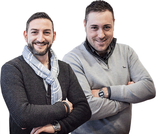 Federico De Luca e Simone Sbrenna